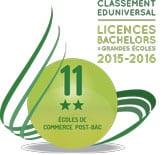 classement SMBG 2016 grande ecoles ESCI 11eme